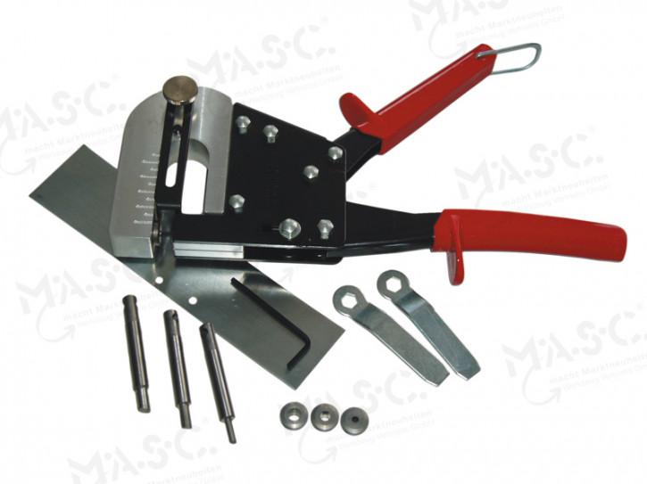 Handlochstanze mit auswechselbaren Stanzen, 3,3 - 6,2mm