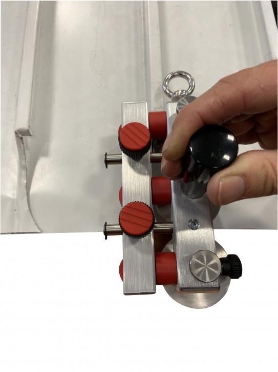 Kombi-Rollformer zum Schließen v. Winkelfalz exklusive Ausführung