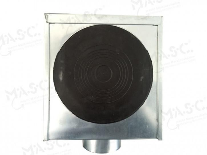 Rinnenkessel vulkanisiert 100 mm