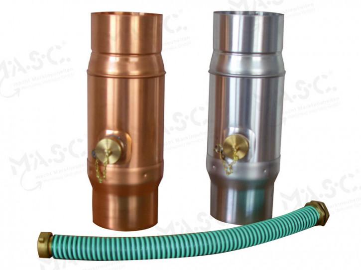 Regenwassersammler 100 mm mit Feinfilter
