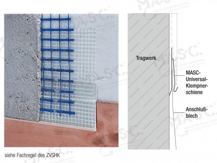MASC Universal Klempnerschiene Vollwärmeschutz