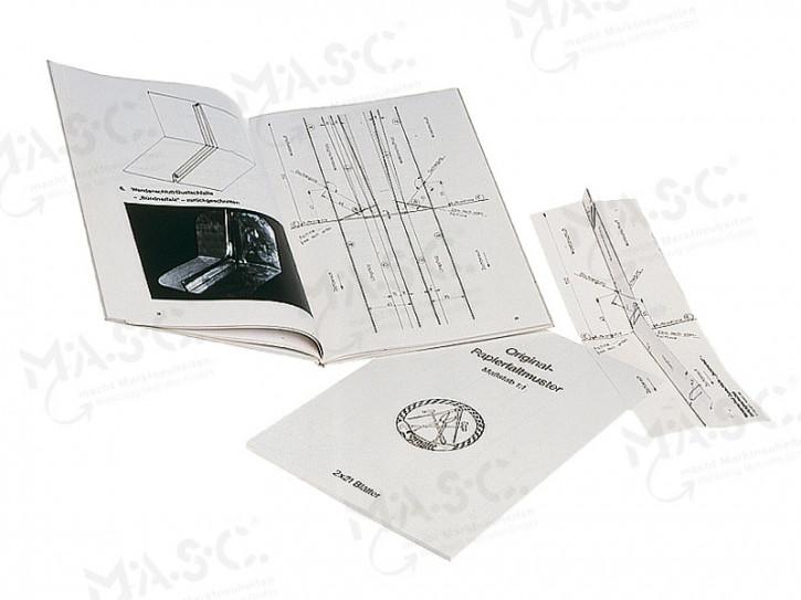 Fachbuch Detailpunkte im Doppelfalz; englisch (Details in Sheet M