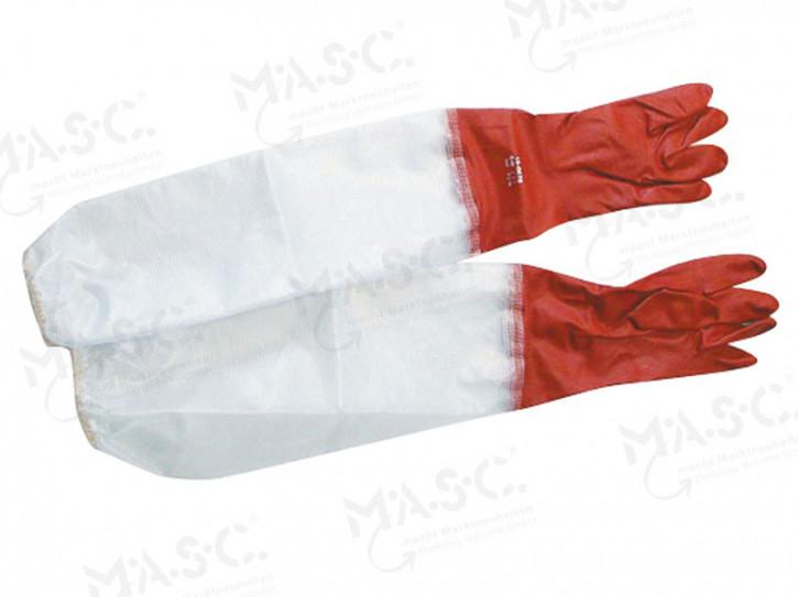 PVC-Handschuh 700 mm lang Größe XL